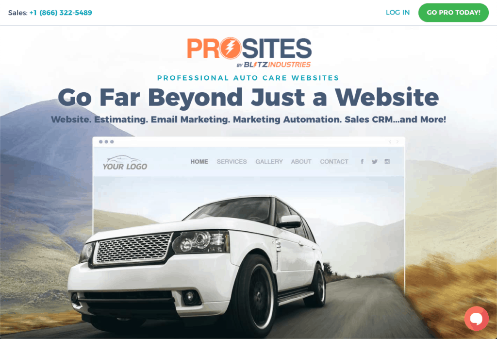 ProSites for Auto Care Professionals