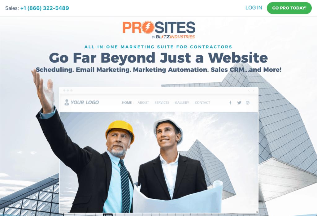 ProSites for Contractors