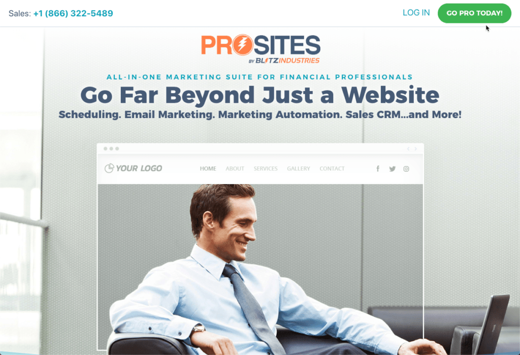 ProSites for Finance Professionals