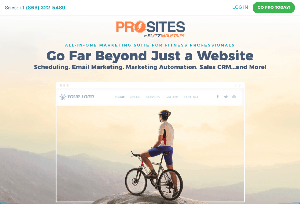 ProSites for Fitness Professionals