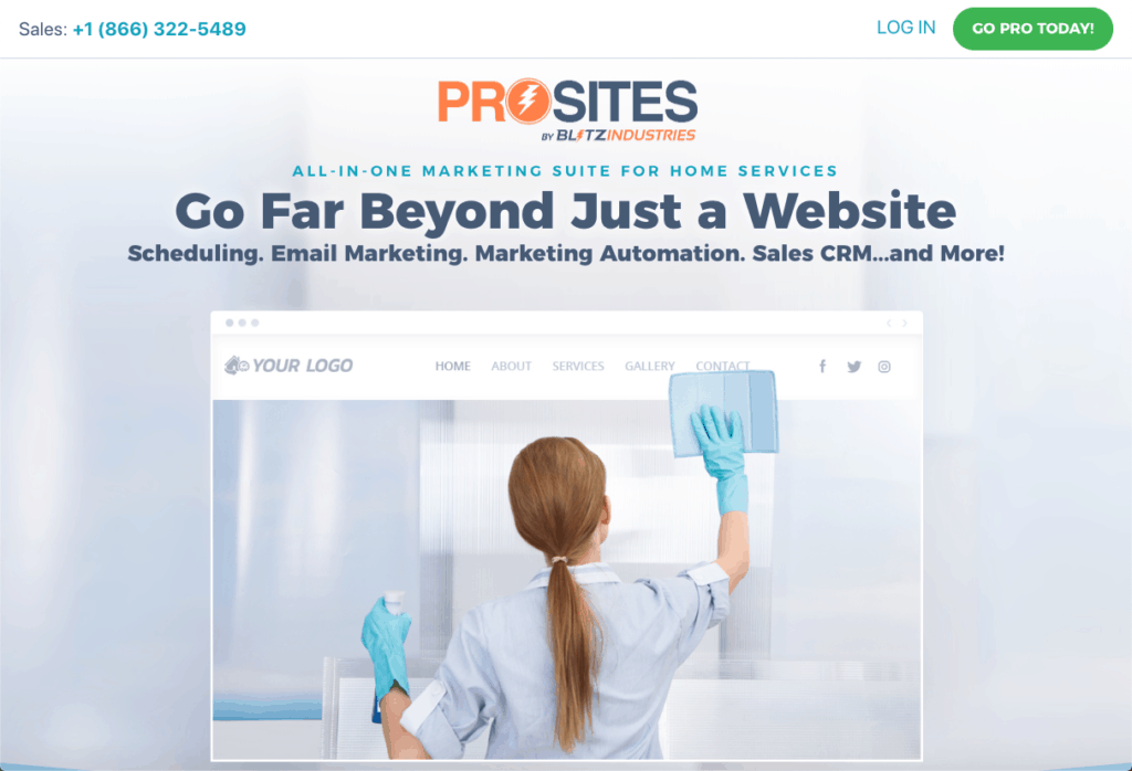 ProSites for Home Services