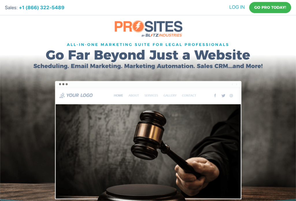 ProSites for Legal Professionals