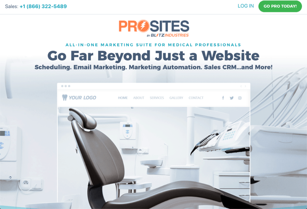 ProSites for Medical Professionals