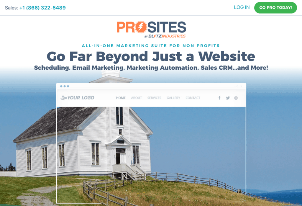 ProSites for Non Profits