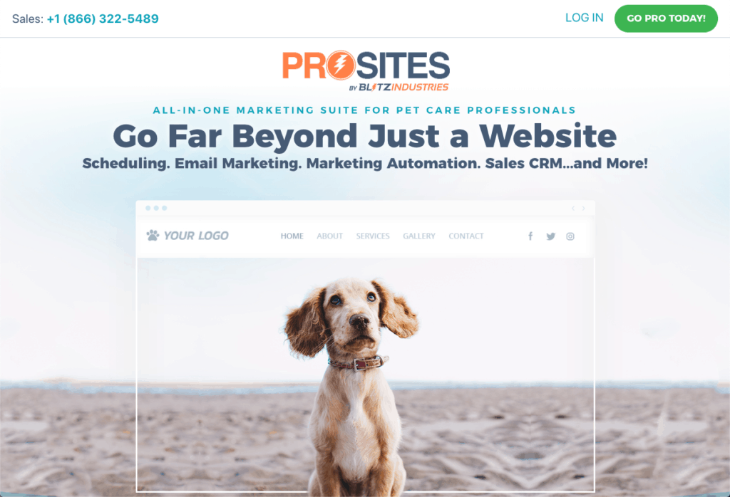 ProSites for Pet Care Professionals