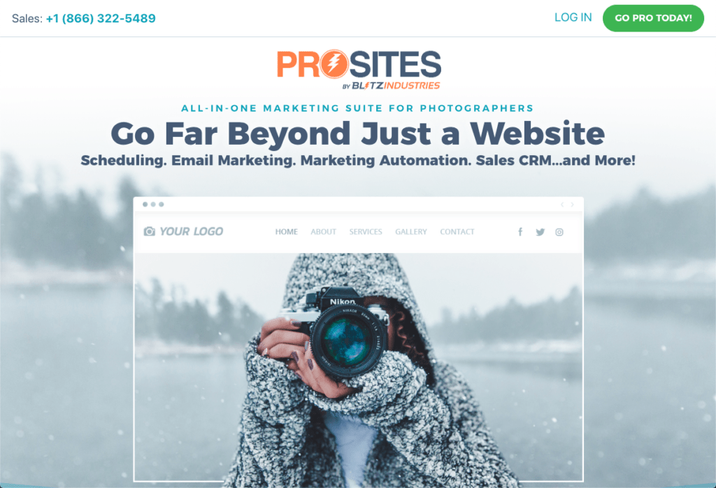 ProSites for Photographers