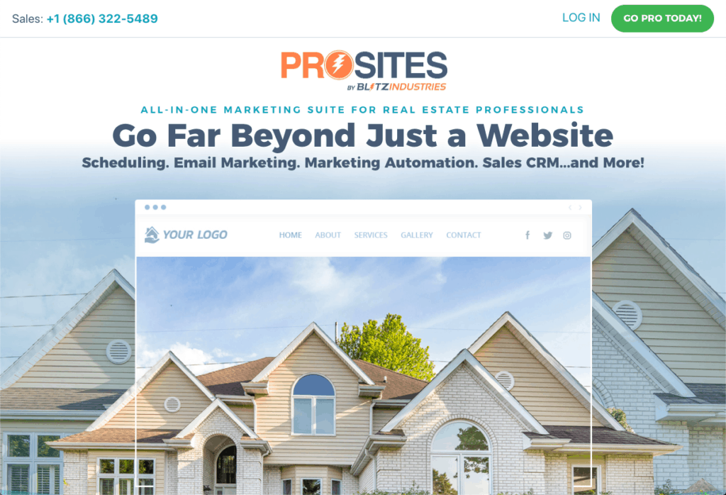 ProSites for Real Estate Professionals