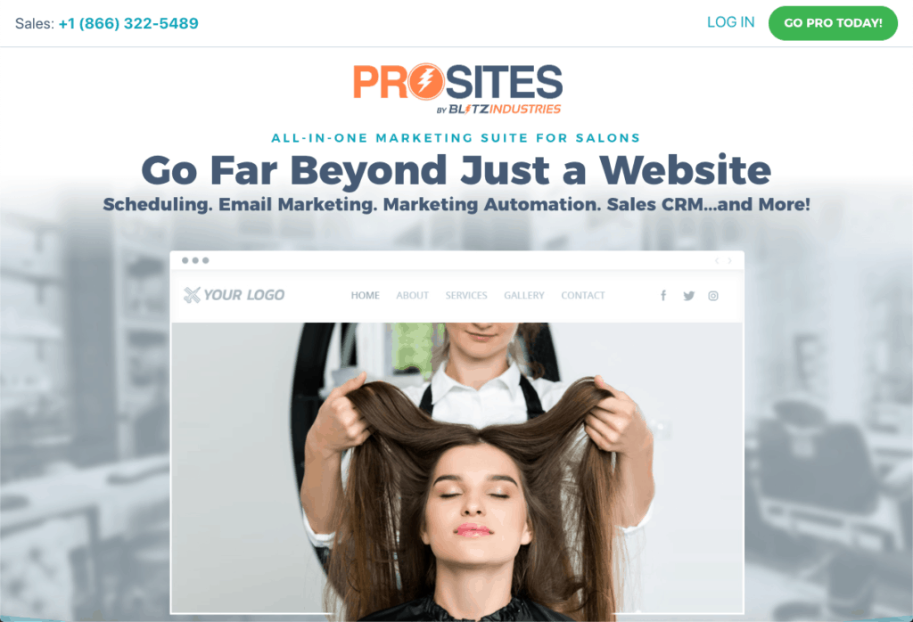 ProSites for Salons